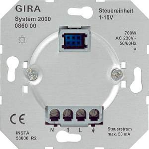 086000 Вставка светорегулятора 1-10 В