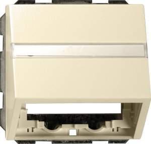 0870111 Накладка с опорной пластиной для розеток средств связи