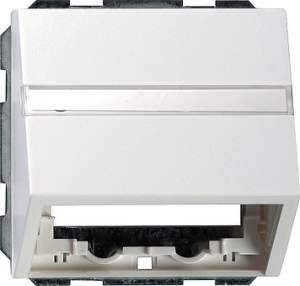 0870112 Накладка с опорной пластиной для розеток средств связи