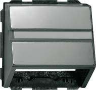 087020 Накладка с опорной пластиной для розеток средств связи