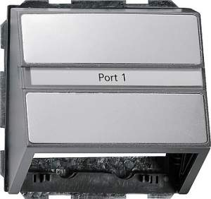 0870203 Накладка с опорной пластиной для розеток средств связи