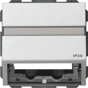 087065 Накладка с опорной пластиной для розеток средств связи