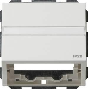 087066 Накладка с опорной пластиной для розеток средств связи