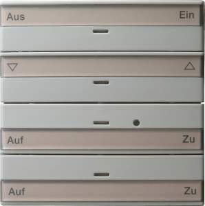 088442 Кнопочный выключатель на 4 направления с полем для надписи