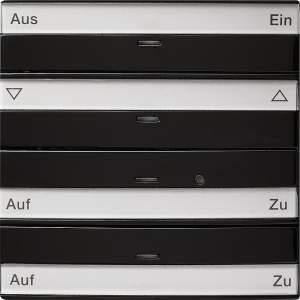 088447 Кнопочный выключатель на 4 направления с полем для надписи