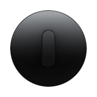 Berker 10012045 Накладка с ручкой для поворотных переключателей, Berker R.1, цвет: черный серия  купить в Москве, цена в России: