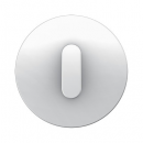 10012089 Накладка с ручкой для поворотных переключателей, Berker R.1, цвет: полярная белизна