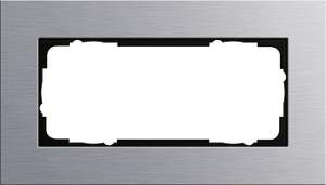 100217 Двойная рамка без перегородки