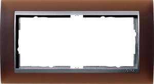 100259 Двойная рамка без перегородки