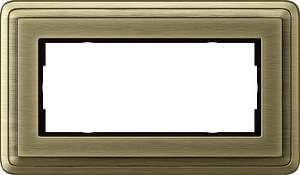 1002621 Двойная рамка без перегородки