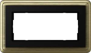 1002622 Двойная рамка без перегородки