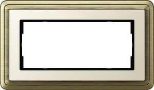 1002623 Двойная рамка без перегородки