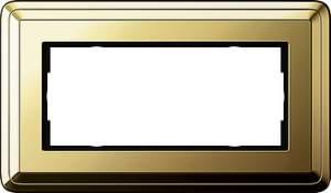 1002631 Двойная рамка без перегородки