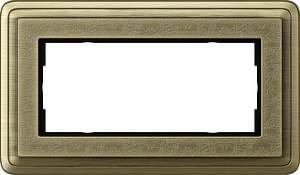 1002661 Двойная рамка без перегородки