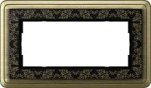 1002662 Двойная рамка без перегородки