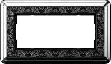 1002682 Двойная рамка без перегородки