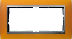 100269 Двойная рамка без перегородки