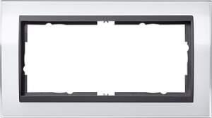 1002728 Двойная рамка без перегородки