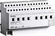100600 Реле GIRA instabus knx-eib серияKNX/EIB, 8-канальное, с ручным управлением