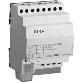 100800 Исполнительное устройство GIRA instabus knx-eib серия 6 канальное