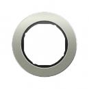 10112004 Рамка R.Classic, 1-местная, нержавеющая сталь цвет: черный