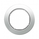 10112009 Рамка R.Classic, 1-местная, стекло, цвет: полярная белизна
