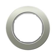 Berker 10112014 Рамка R.Classic, 1-местная, нержавеющая сталь цвет: полярная белизна серия  купить в Москве, цена в России: опт,