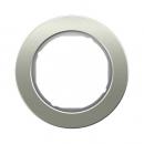 10112014 Рамка R.Classic, 1-местная, нержавеющая сталь цвет: полярная белизна
