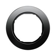 Berker 10112016 Рамка R.Classic, 1-местная, стекло, цвет: черный серия  купить в Москве, цена в России: опт, розница   smartipad