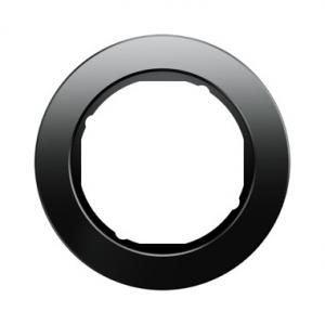 Berker 10112016 Рамка R.Classic, 1-местная, стекло, цвет: черный серия  купить в Москве, цена в России: опт, розница | smartipad
