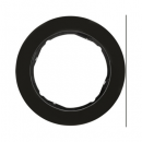 10112045 Рамка, R.Classic, 1-местная, цвет: черный (11,75)