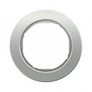 10112074 Рамка, R.Classic, 1-местная, алюминий, цвет: полярная белизна (52,63)
