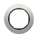10112084 Рамка, R.Classic, 1-местная, алюминий, цвет: черный (52,63)
