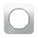 10112109 Рамка R.1, 1-местная, стекло, цвет: полярная белизна