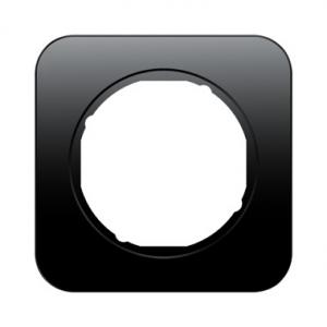 Berker 10112145 Рамка R.1, 1-местная, цвет: черный серия  купить в Москве, цена в России: опт, розница | smartipad.ru