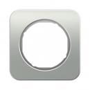 10112174 Рамка R.1, 1-местная, алюминий, цвет: полярная белизна