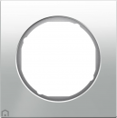10112209 Рамка R.3, 1-местная, стекло, цвет: полярная белизна (47,6)