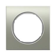 Berker 10112214 Рамка R.1, 2-местная, нержавеющая сталь цвет: полярная белизна серия  купить в Москве, цена в России: опт, розни