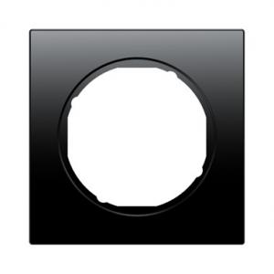 Berker 10112245 Рамка R.3, 1-местная, цвет: черный серия  купить в Москве, цена в России: опт, розница   smartipad.ru