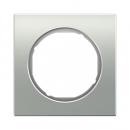 10112274 Рамка R.1, 2-местная, алюминий, цвет: полярная белизна