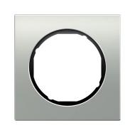 Berker 10112284 Рамка R.1, 2-местная, алюминий, цвет: черный серия  купить в Москве, цена в России: опт, розница | smartipad.ru