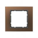 10113001 Рамкa, B.3, алюминий, цвет: коричневый/антрацитовый