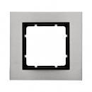 10113606 Рамкa B.7, нержавеющая сталь, цвет: антрацитовый