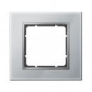 "10116414 Рамка 1-я, Цвет:""стекло - алюм./алюм."""