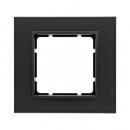 10116626 Рамкa B.7, 1-местная, цвет: антрацитовый