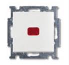 1012-0-2143 (2006/6 UCK-94) BJB Basic 55 Бел Переключатель 1-клавишный с подсветкой и N-клеммой