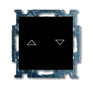 1012-0-2176 (2006/4 UC-95) BJB Basic 55 Шато (чёрн) Выключатель жалюзийный