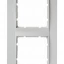 """10121909 Рамка 2-я вертикальная, Цвет:""""белый/белый"""""""
