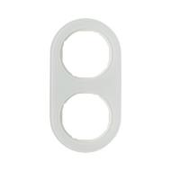 Berker 10122009 Рамка R.Classic, 2-местная, стекло, цвет: полярная белизна серия  купить в Москве, цена в России: опт, розница |