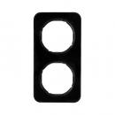 10122145 Рамка R.1, 2-местная, цвет: черный